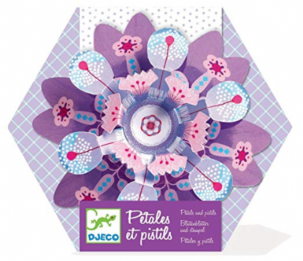 "Djeco Petals and pistils ""Purple"" - Paper Folding"